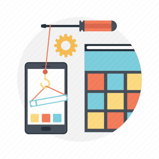 android mobile, app development, app setting, mobile app, mobile ui icon