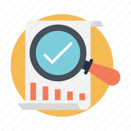 analysis, business analysis, business report, market research, statistics icon
