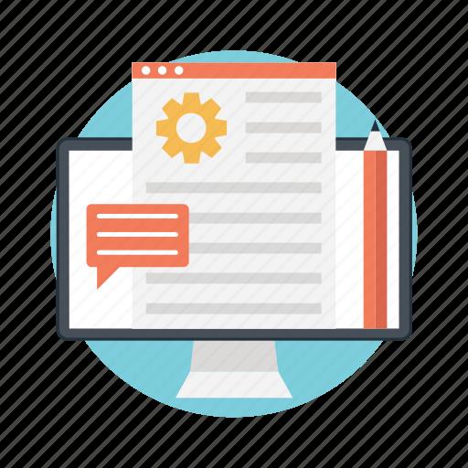 backlinks, blog management, cms, reputation management, social media marketing icon
