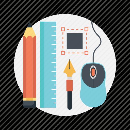 design tools, designing, graphic tools, graphics development, online graphics icon
