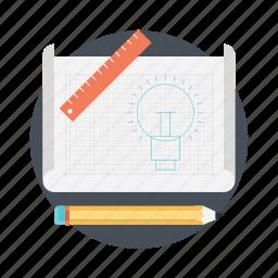 application development, creative process, product design, product development, prototype icon