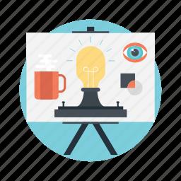 advertising agency, creative design, creative development, creative process, workflow icon