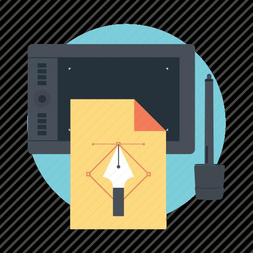 computer graphics, digital designing, digital graphics, digital media, web designing icon