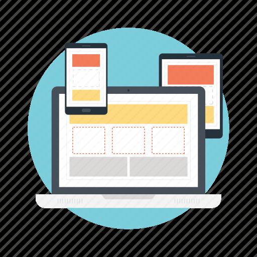 graphic design, web designing, web graphics, web layout, website layout icon