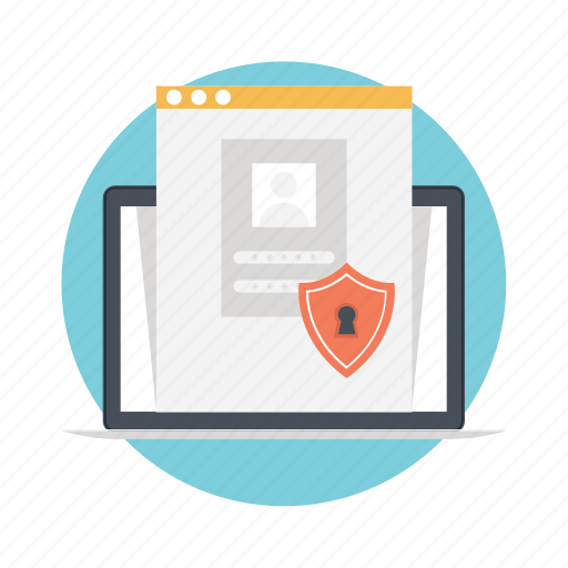 cybersecurity, data security, network privacy, network protection, web protection icon