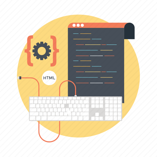 coding, programming, source code, web development icon
