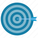 aim, goal, seo, targeting icon