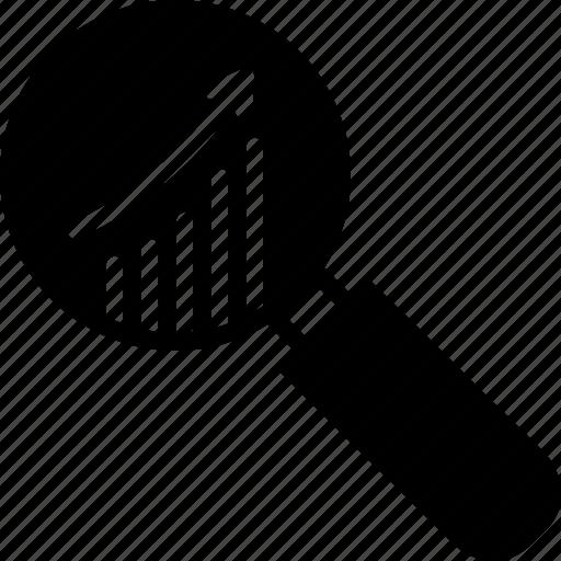 analysis, market, research, statistics icon
