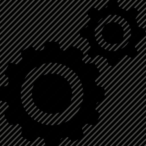 cog, cogwheel, gear, option, setting icon