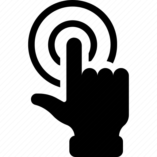 finger, hand, hand gaster, technology, touchscreen icon