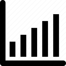 analysis, bar graph, graph, line, report icon