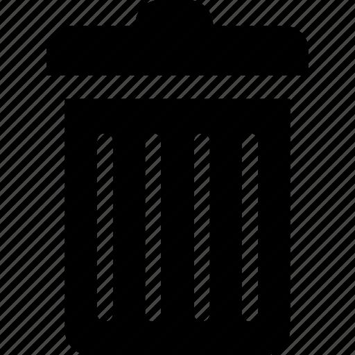 delete, dustbin, recycle bin, remove, trash icon