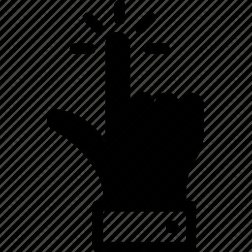 cursor, finger gesture, finger pressing, finger touch, pointing finger icon