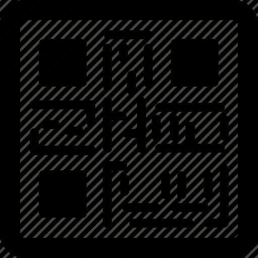 barcode, qr, qr code, quick code, upc icon