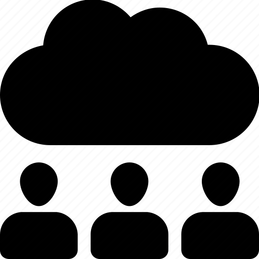cloud, cloud computing, computing, traffic, users icon