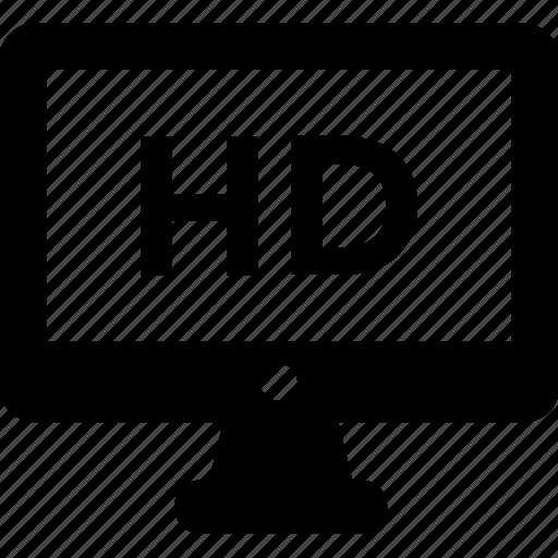 display, hd, lcd, monitor, screen icon