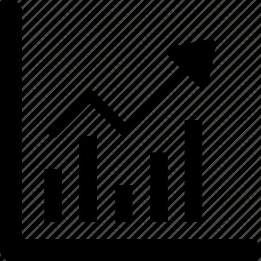 analytics, bar chart, graph, growth, statistics icon