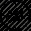 person target, seo, target, traffic, user target icon