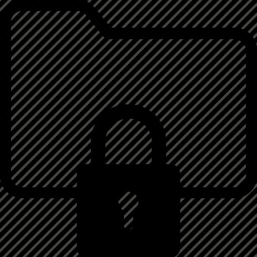 access, data, folder, lock, protection icon
