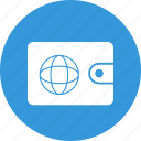 cash, e-payment, money, online wallet, pay, payment, purse icon