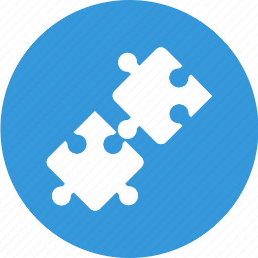 build a link, business, link, partners, puzzle icon