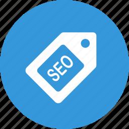 label, optimization, seo, tag icon