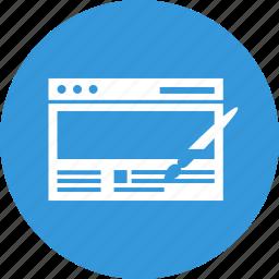 design, development, seo, site, web, website, wed design icon