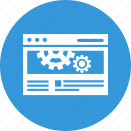 cogwheel, improvement, optimization, seo, settings, website icon