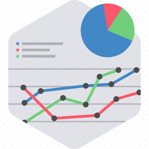 analytics, business, chart, graph, presentation, statistics icon