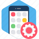 app, mobile, setting, settings, configuration, device
