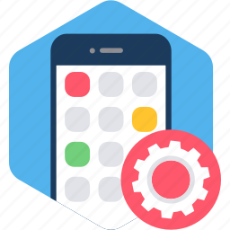 app, configuration, device, mobile, setting, settings icon