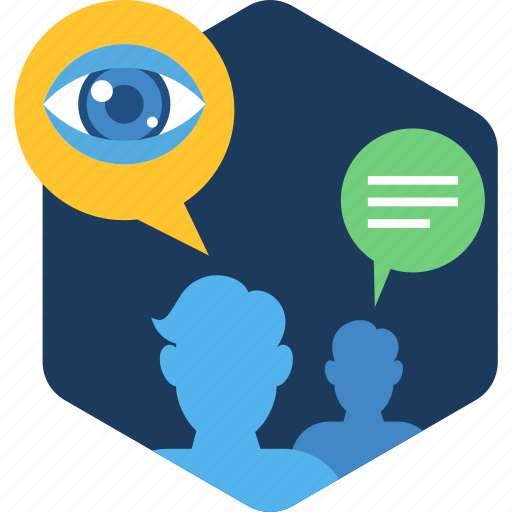overview, people, search, social, user, view icon