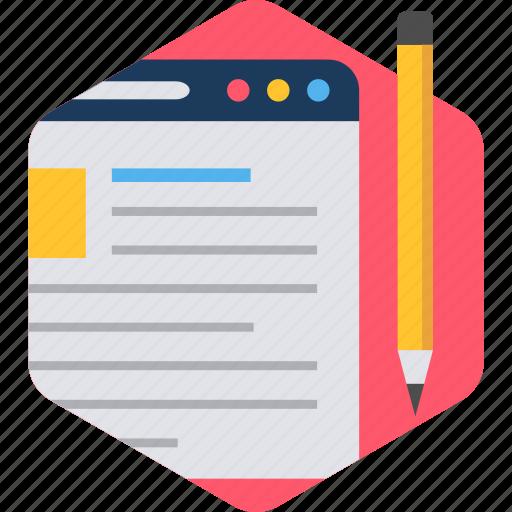 design, document, internet, page, paper, seo, web icon