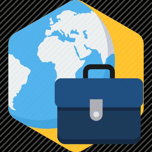 analytics, bag, business, office, portfolio, seo icon