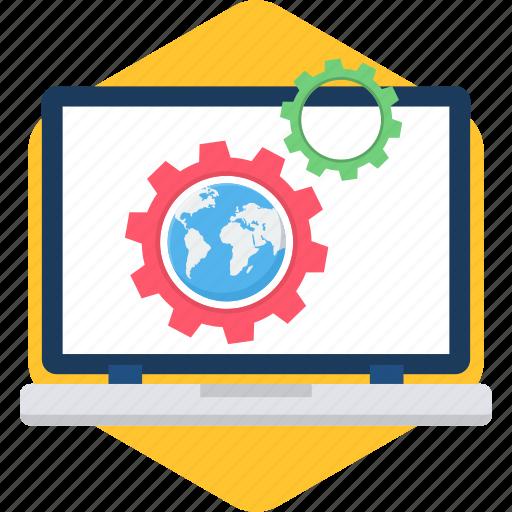 configuration, laptop, options, preferences, setting, settings icon