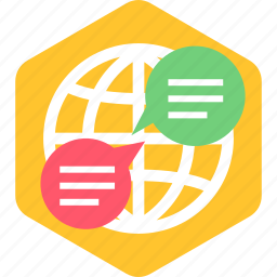 chat, internet, network, online, seo, web icon
