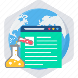 design, internet, network, page, test, testing, web icon