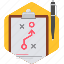 agenda, business, design, flow, graphic, office, work icon
