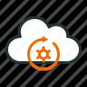 connection, data, internet, refresh, server, service, update icon