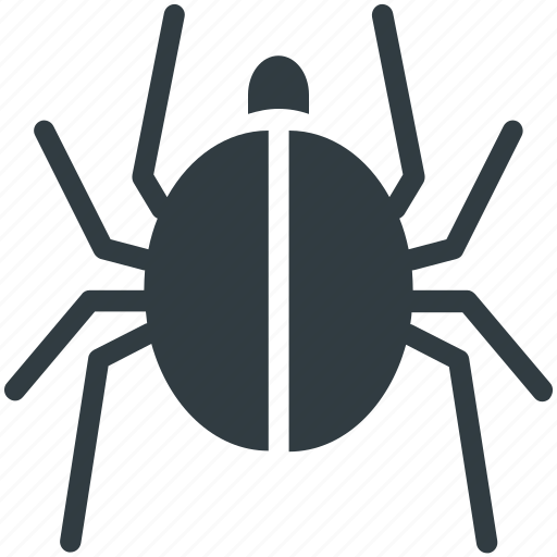 Cybercrime, virus, malware, threat, bug icon