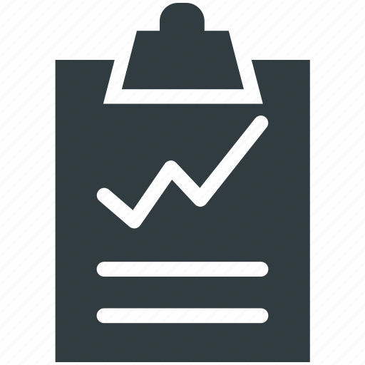 analysis, analytics, clipboard, graphic report, statistics icon