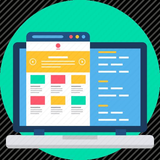 html, language, page, programming, seo, web icon