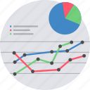 chart, diagram, graph, analysis, analytics, report, statistics icon