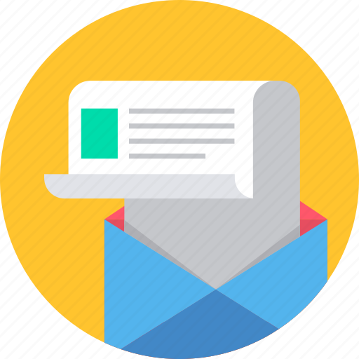 conversation, email, inbox, letter, mail, message, postbox icon