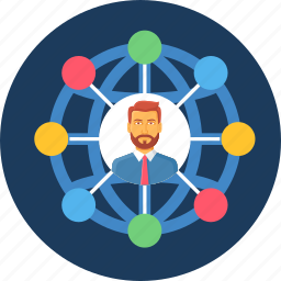 internet, network, online, seo, social, user, web icon