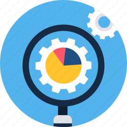 find, magnifier, options, search, seo, setting, settings icon