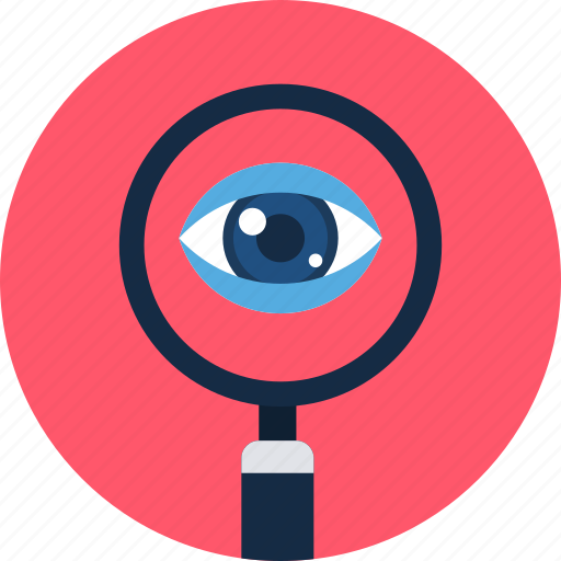 find, internet, search, seo, view, web, zoom icon