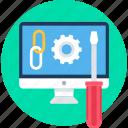 setting, link, linking, web, configuration, settings