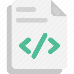 file extension, file format, html file, php file, programming file icon