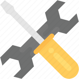 maintenance, repair, service tools, settings, tech service icon
